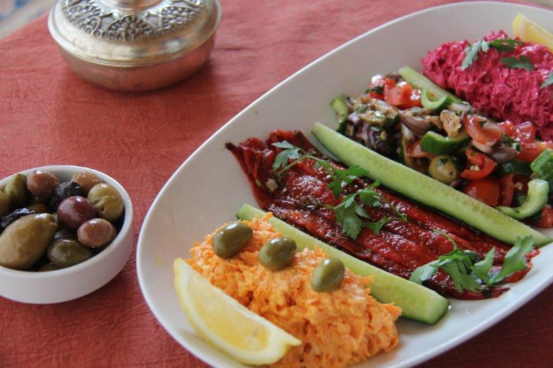 Turkish Meze Platter compassandfork.com