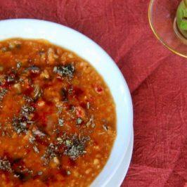 Turkish Red Lentil Soup Recipe