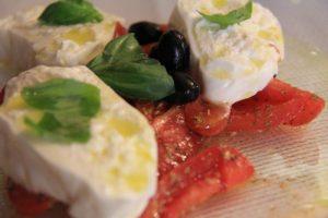 Burrata Cheese, Di Cesari Restaurant, Bologna compassandfork.com