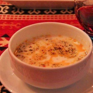 yogurt soup www.compassandfork.com