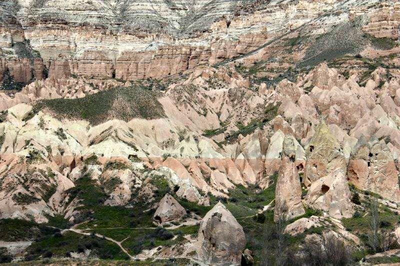 Hiking in Cappadocia and a Pomegranate Orange Juice Recipe Red Valley near Goreme compassandfork.com