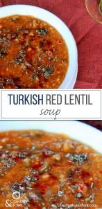 Turkish Red Lentil Soup compassandfork.com