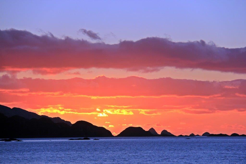 Sunset Cruising Ushuaia to Punta Arenas aboard the Via Australis compassandfork.com