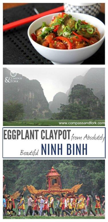 Eggplant Claypot from Absolutely Beautiful Ninh Binh compassandfork.com