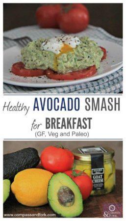 Healthy Avocado Smash for Breakfast an Australian Classic compassandfork.com