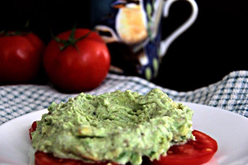 Hollow for the egg - Healthy Avocado Smash for Breakfast compassandfork.com