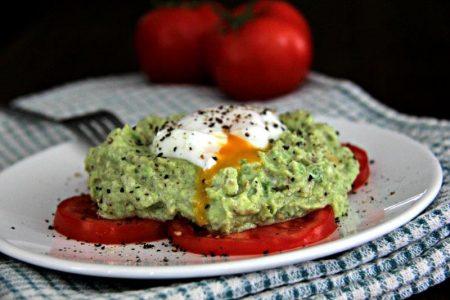 Ready to eat - Healthy Avocado Smash for Breakfast compassandfork.com