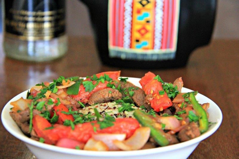 10 of the Most Popular Dinner Recipes from Around the World Lomo Saltado | Peru compassandfork.com