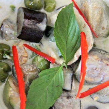 Wonderful Green Curry to Make You Feel Blissful