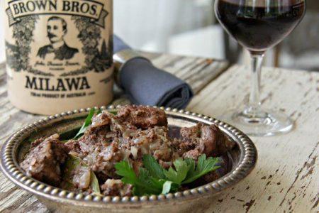 10 of the Most Popular Dinner Recipes from Around the World Drunken Pork | Greece compassandfork.com