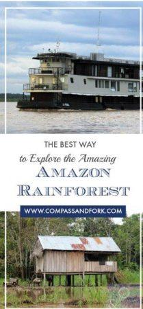 The Best Way to explore the Amazing Amazon Rainforest www,compassandfork.com