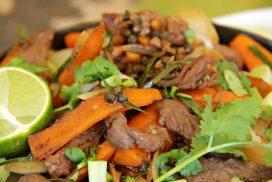 The Best Green Peppercorn Beef Celebrating Kampot Pepper - Served compassandfork.com