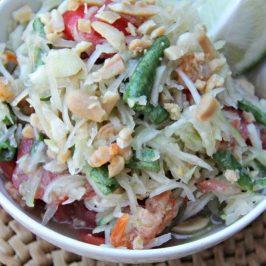 Mekong Inspired Green Papaya Salad Recipe