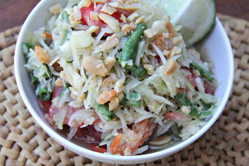 Mekong Inspired Green Papaya Salad