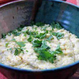 Romanian Polenta is a Simple Polenta Recipe
