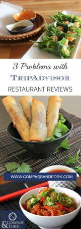 do you use TripAdvisor to find restaurants? 3 Problems with TripAdvisor Restaurant Reviews compassandfork.com